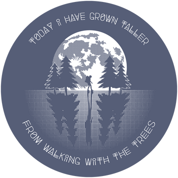 CLEARANCE! Walking With the Trees Sticker - Fox & Fir Design
