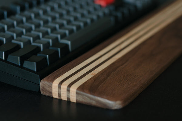 Signature SS02 - Walnut & Maple Wrist Rest