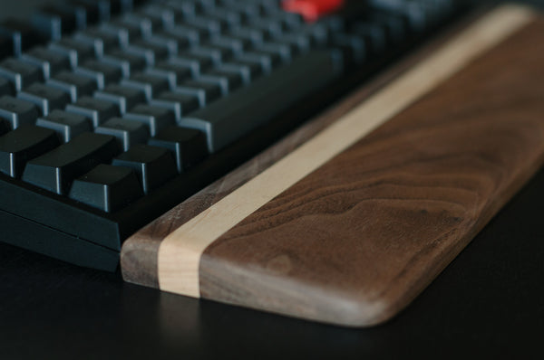 Signature SS03 - Walnut & Maple Wrist Rest