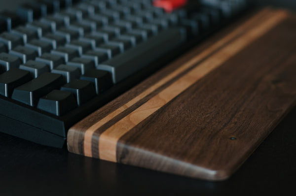 Dark Walnut & Cherry Wrist Rest
