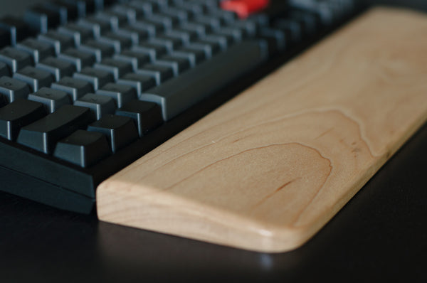 Wooden Wrist Rest - Maple