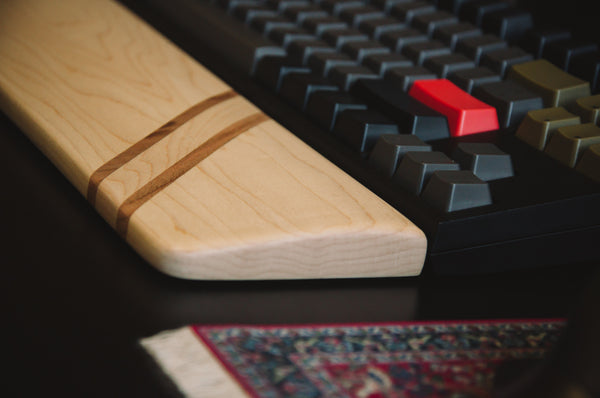 Signature SS09 - Maple & Cherry Wrist Rest
