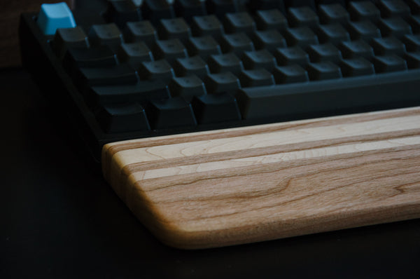 Signature SS10 - Cherry & Maple Wrist Rest