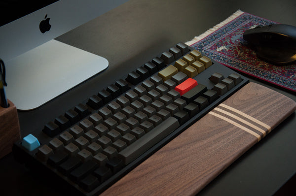 Signature SS11 - Walnut & Maple Wrist Rest