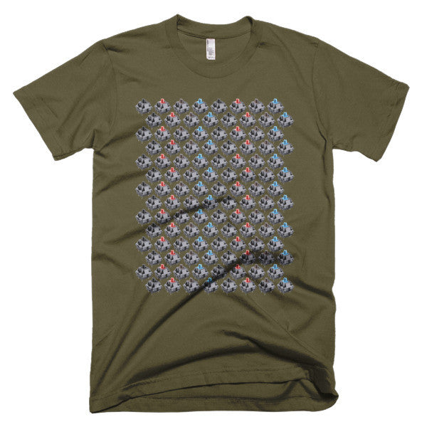 mechanical keyboard mx switches t-shirt army