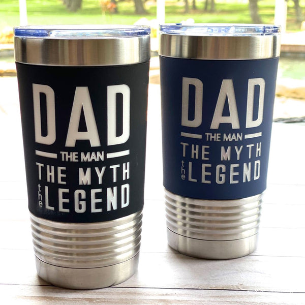 stainless insulated tumbler for dad Father's Day gift