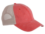 Company Twenty Six Ladies Cap Colors Pigment Dyed Side View