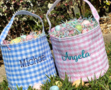 Easter Basket with Name Girl or Boy