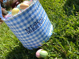 Personalized Easter Bucket for Boy Blue