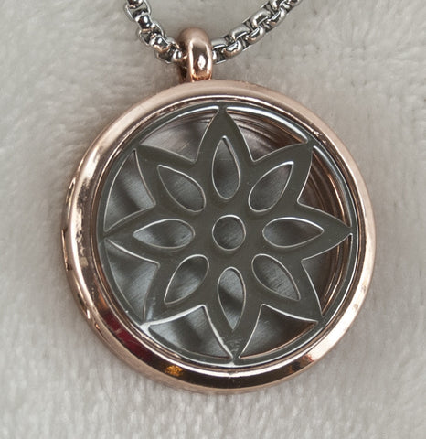Synergy Flower Essential Oil Necklace Diffuser