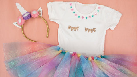 DIY Unicorn Costume with Tutu by Craftbox Girls