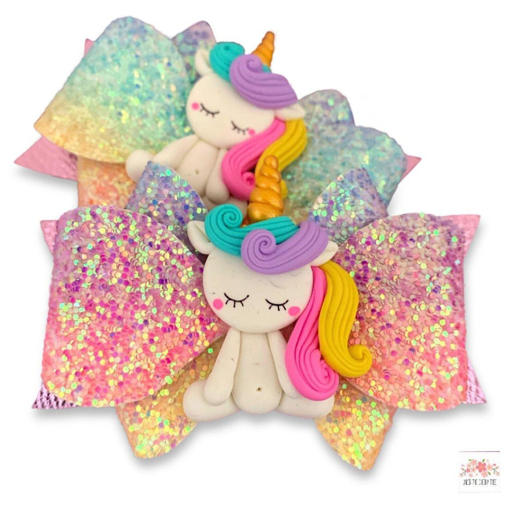 Sleeping Unicorn Bow - Finding Unicorns