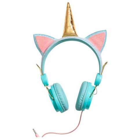 Unicorn Headphones - Aqua - Finding Unicorns