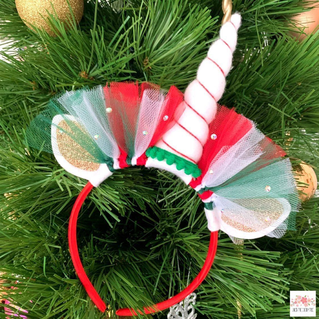 Christmas Unicorn Headband - Finding Unicorns