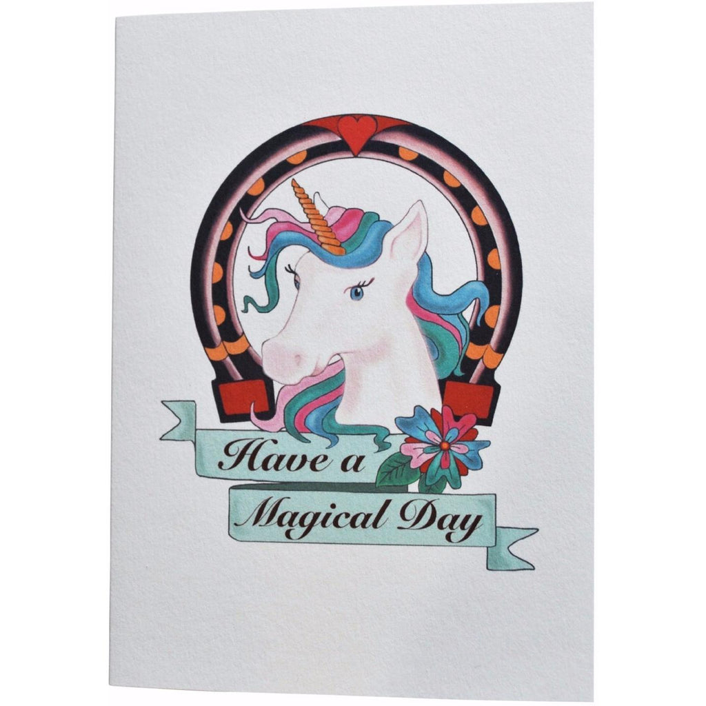 Have a Magical Day - Unicorn Birthday Card - Finding Unicorns
