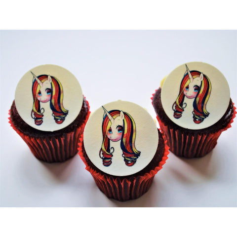 Unicorn Cupcake Toppers - Finding Unicorns