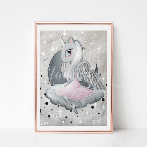 Edda - Unicorn Wall Art - Finding Unicorns
