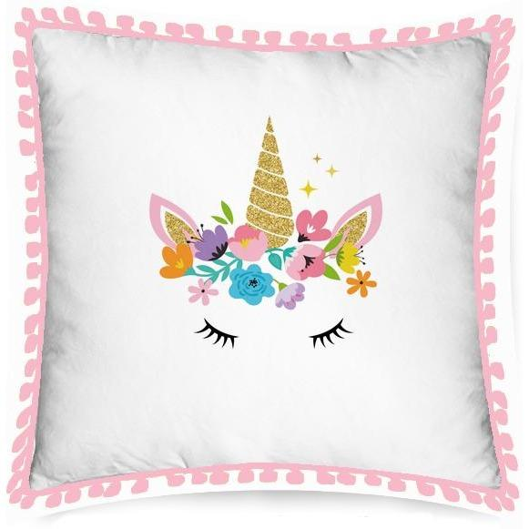 Unicorn Eyes Cushion - Finding Unicorns