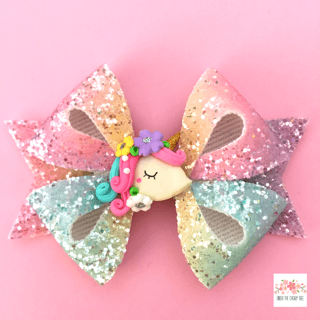 Flora Sparkles Unicorn Bow - Finding Unicorns