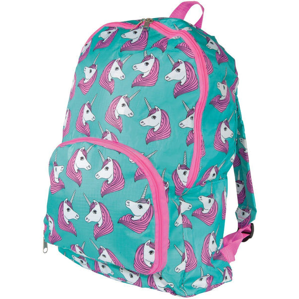 Folding Unicorn Backpack - Finding Unicorns
