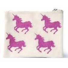 Unicorn Canvas Coin Purse - Finding Unicorns