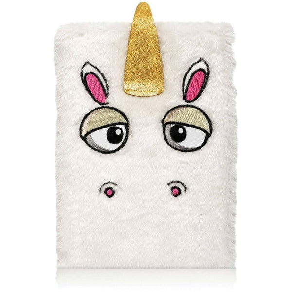 Fluffy Unicorn Notebook - Finding Unicorns