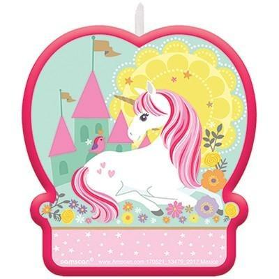 Magical Unicorn Birthday Candle - Finding Unicorns