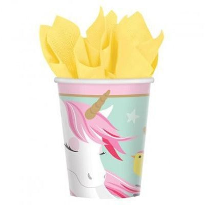 Magical Unicorn Party Cups - Finding Unicorns