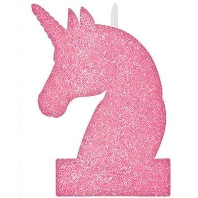 Magical Unicorn Large Glitter Candle - Finding Unicorns