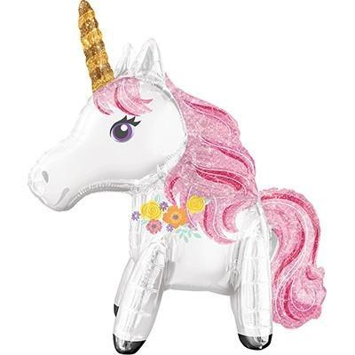 Mini Unicorn Airwalker Balloon - Finding Unicorns