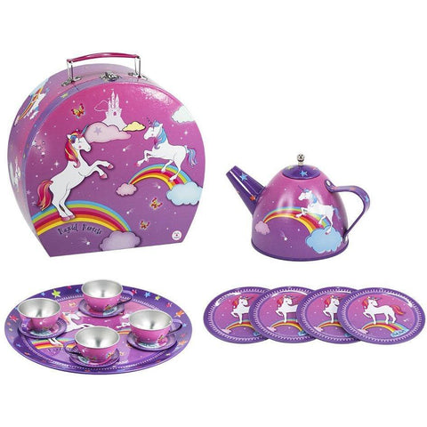 Unicorn Tea Set with Carry Case - Finding Unicorns