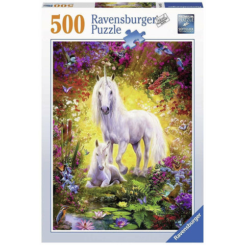 Unicorn and Foal Jigsaw Puzzle