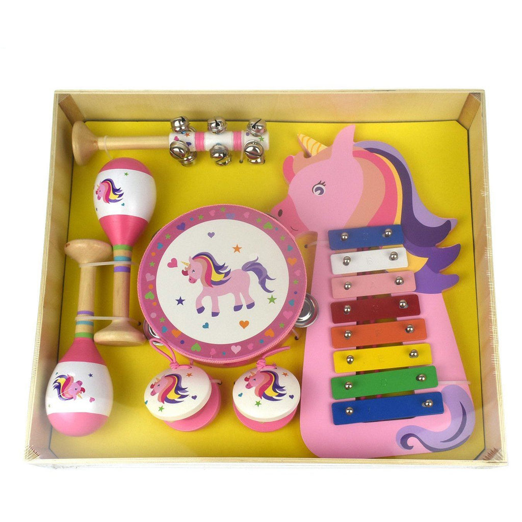 7 Piece Unicorn Musical Instrument Set - Finding Unicorns