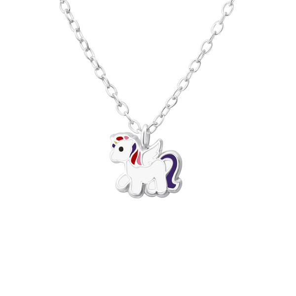Sterling Silver Unicorn Necklace - Finding Unicorns