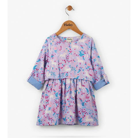 Unicorns in the Garden Layer Dress - Finding Unicorns