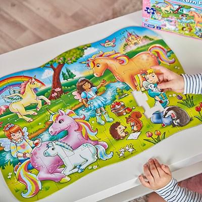 Unicorn Friends Puzzle and Poster