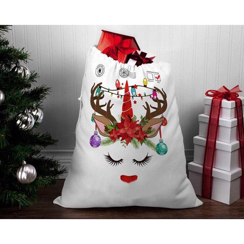 Unicorn Christmas Santa Sack - Finding Unicorns
