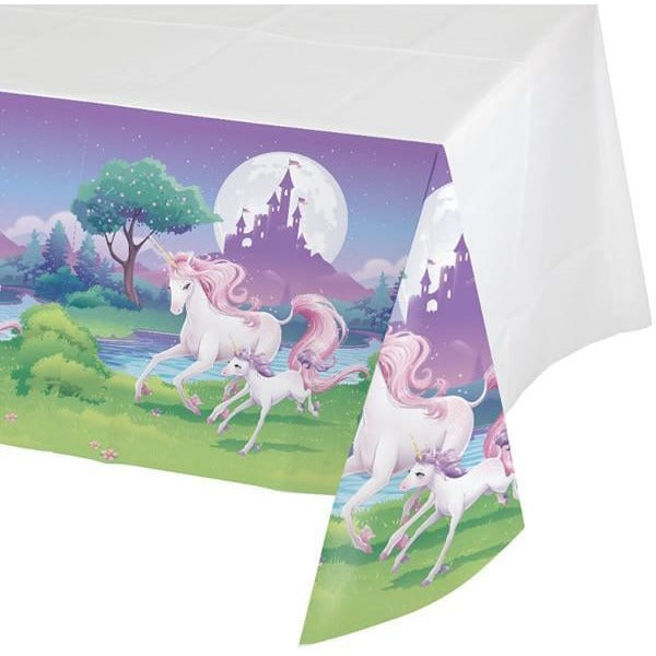 Unicorn Fantasy Table Cover - Finding Unicorns