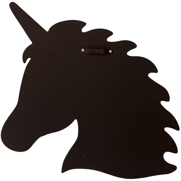 Unicorn Silhouette Chalkboard - Finding Unicorns