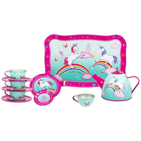 Unicorn Tea Set with Serving Tray - Finding Unicorns