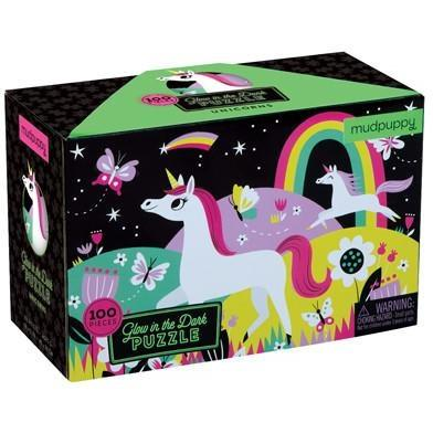 Glow in the Dark Unicorn Puzzle - Finding Unicorns