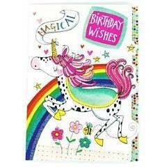 Unicorn Birthday Wishes - Birthday Card - Finding Unicorns