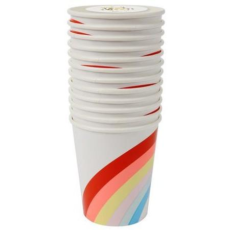 Rainbow Party Cups - Finding Unicorns