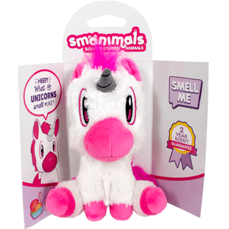 Smanimal Unicorn Soft Toy - Scented - Finding Unicorns
