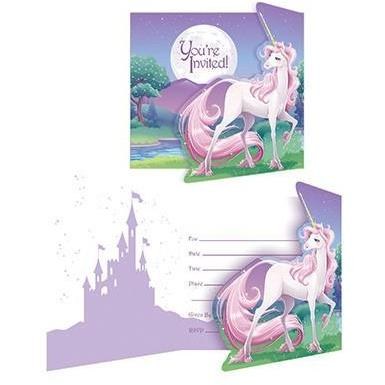 Unicorn Fantasy Party Invitations - Finding Unicorns
