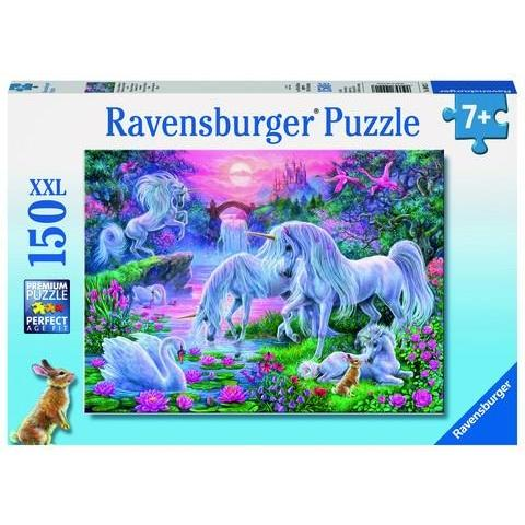 Unicorns at Sunset Puzzle - Finding Unicorns