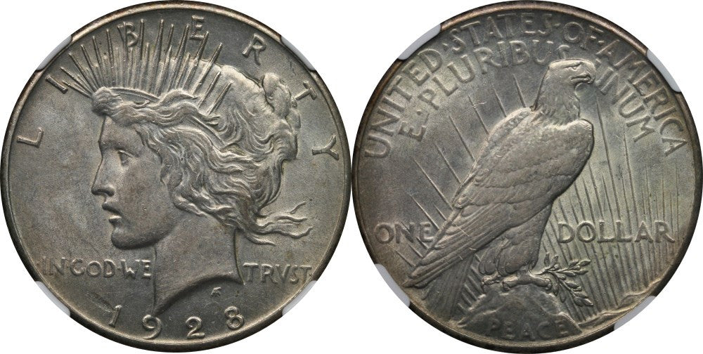 Peace Dollar About Uncirculated Condition