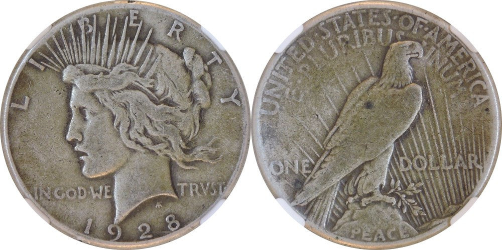 Peace Dollar Fine Condition