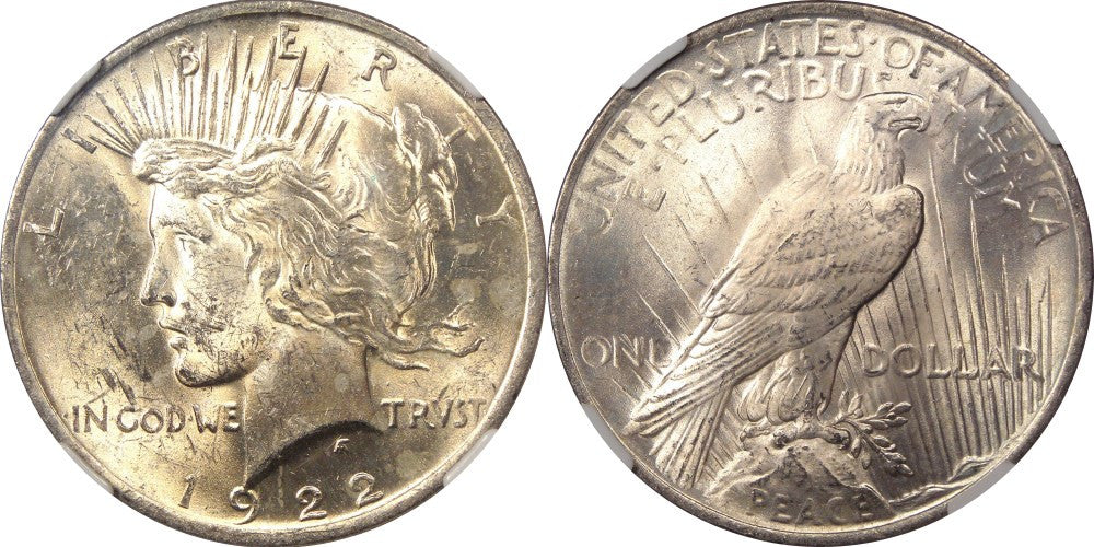 Peace Dollar MS-60 Condition
