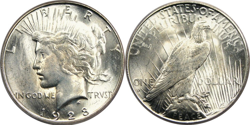 Peace Dollar MS-63 Condition